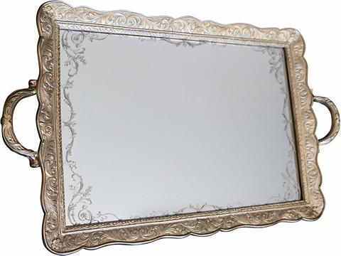 Padėklas su veidrodis