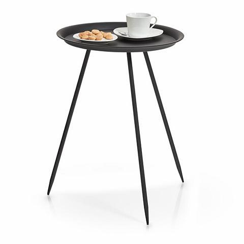 Pristatomas stalas ovali metalas