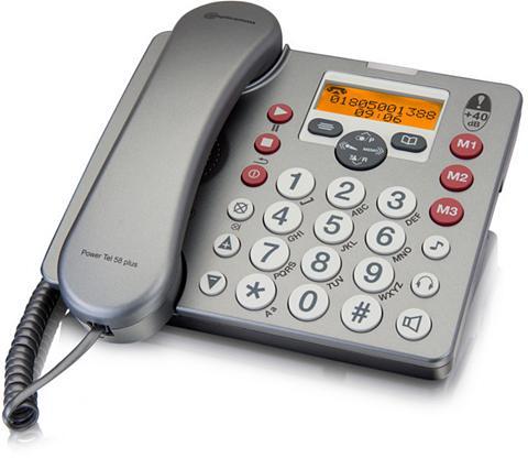 Großtastentelefon »Power Tel 58 plus«