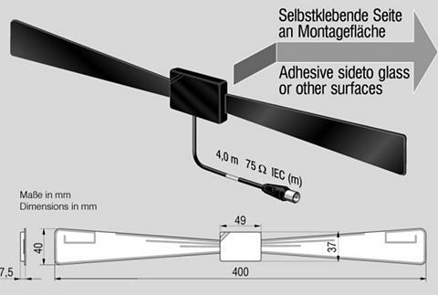 ANTENNE BAD BLANKENBURG Antena Bad Blankenburg Antena »DVB-T/T...