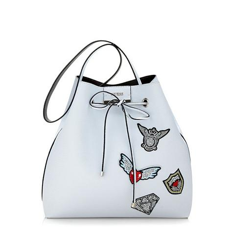 Trikotažinis krepšys BOBBI su siuvinėj...