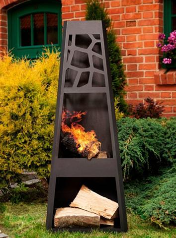 DOBAR Lauko grilis »Design XL« B/T/H: 48/305...