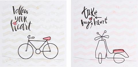 Dekoratyviniai paveikslai »Fahrräder« ...