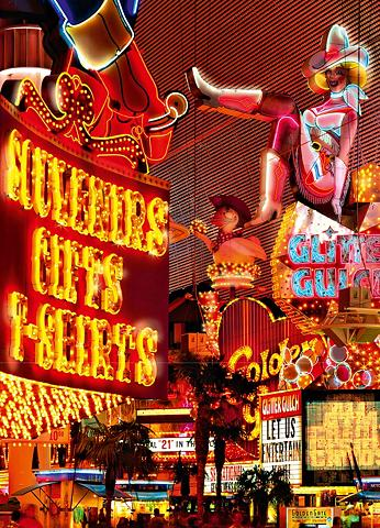 Fototapetas »Downtown Las Vegas« 4 vie...