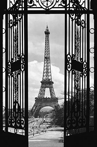 IDEALDECOR XXL Plakatas »Giant Art - La Tour Eiff...