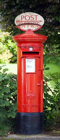 Durų tapetas »Postbox« 2 vnt. rinkinys...