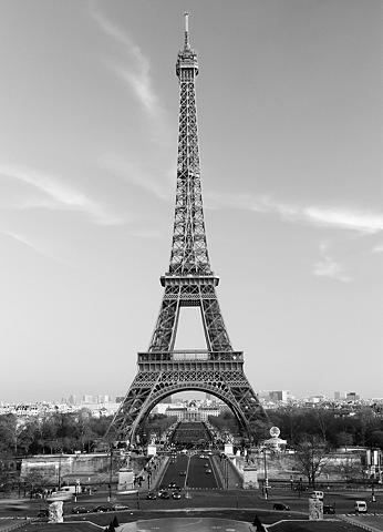 Fototapetas »La Tour Eiffel« 4 vieneta...