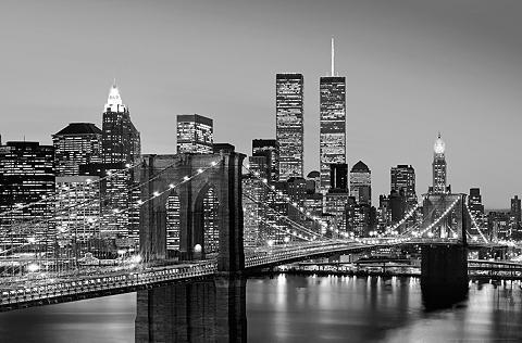 IDEALDECOR XXL Plakatas »Giant Art - Manhattan Sk...