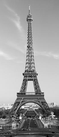 IDEALDECOR Durų tapetas »La Tour Eiffel« 2 vnt. r...