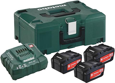 METABO Akku-Set »Basis LiHD« 3x Akumuliatorin...