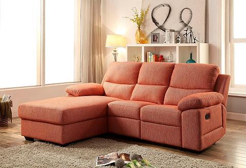 Kampinė sofa su spyruoklės