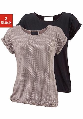 Marškinėliai (2 vienetai) su Cut-out i...
