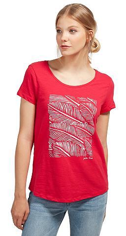 Marškinėliai »T-Shirt su Palmen-Print«...
