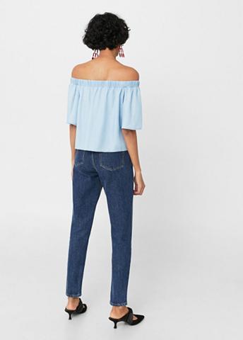 Apnuoginanti pečius Jeans-Top