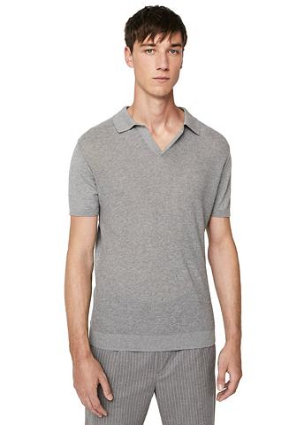 Baumwoll-Poloshirt su Struktur