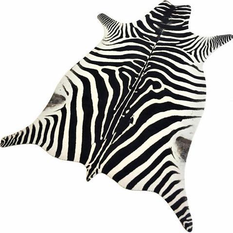 LIVING LINE Kilimas »Zebra Look« tierfellförmig au...