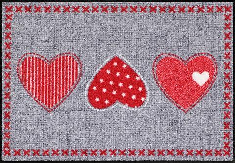 Durų kilimėlis »Heart Application« rec...