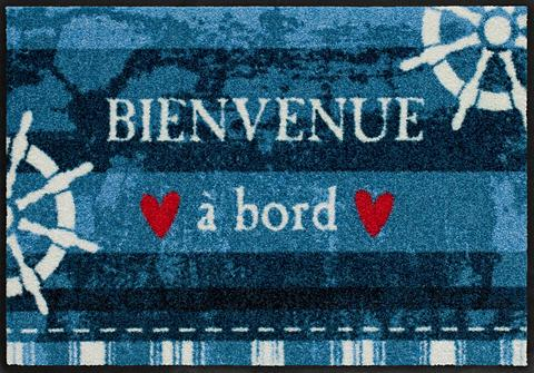 Durų kilimėlis »Bienvenue à board« rec...