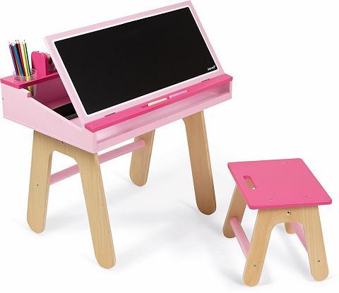 JANOD Vaikiškas rašomasis stalas su Lenta »S...