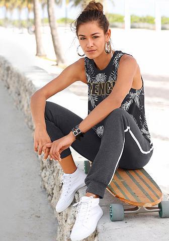 BENCH. Sportinio stiliaus kelnės su Kontrasts...