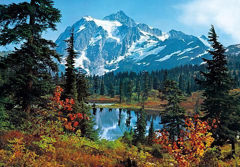 Fototapetas »Mountain Morning« 8-teili...