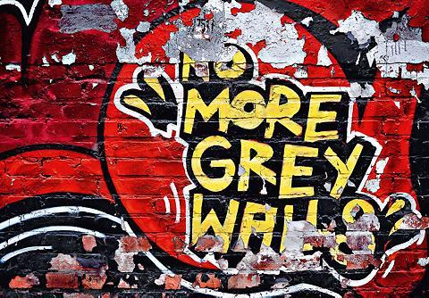 IDEALDECOR Fototapetas »No More Grey Walls« 8 vnt...