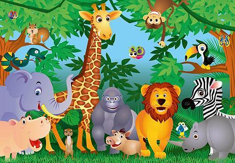 Fototapetas »In the Jungle« 8-teilig 3...