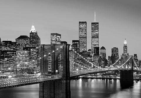 Fototapetas »Manhattan Skyline at Nigh...