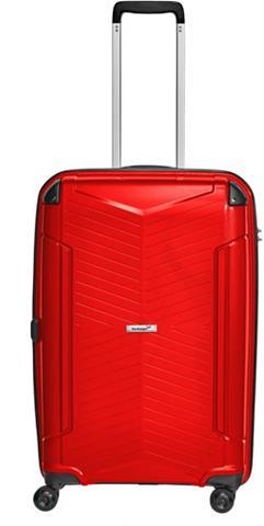 Plastikinis lagaminas ant ratukų su 4 ...