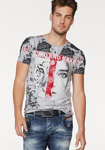 Cipo & Baxx Marškinėliai »Tigerface«