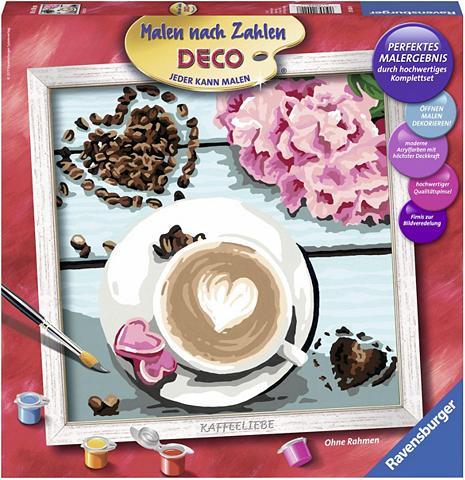 Malen nach Zahlen »Deco Kaffeeliebe«