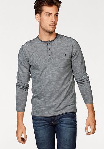 Marškinėliai ilgomis rankovėmis »Piqué...
