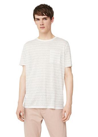 Dryžuota Leinen-T-Shirt