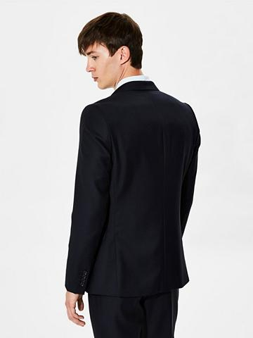 Slim-Fit-Blazer iš Wolle