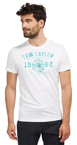 Marškinėliai Marškinėliai su Logo-Prin...