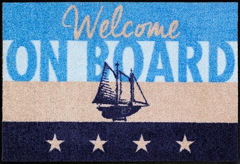 Durų kilimėlis »Welcome Yacht« rechtec...