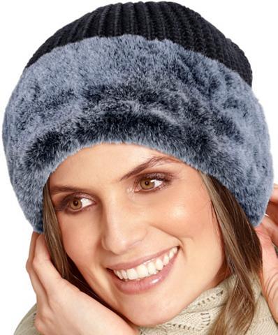 Kepurė su Webpelz-Rand