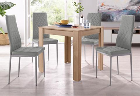 Valgomojo baldų komplektas su stalas i...