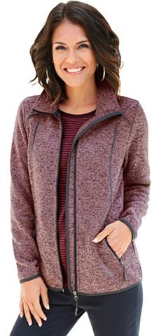Flisinis megztinis in attraktiver Mela...