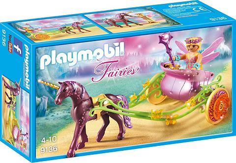 PLAYMOBIL ® Blumenfee su Einhornkutsche (9136) »...