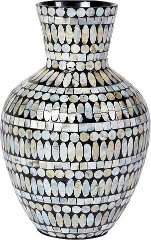 HOME AFFAIRE Dekoratyvinė vaza iš Bambukas su Perlm...