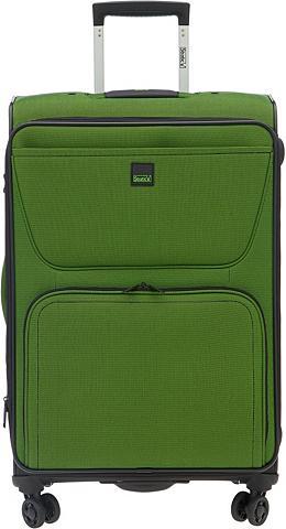 STRATIC Medžiaginis lagaminas ant ratukų su 2/...