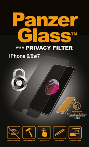 PANZERGLASS Folie »Apple i Phone 7 Privacy«