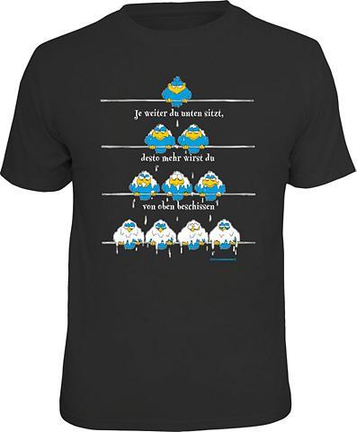 Marškinėliai »Die Hierarchie des Leben...