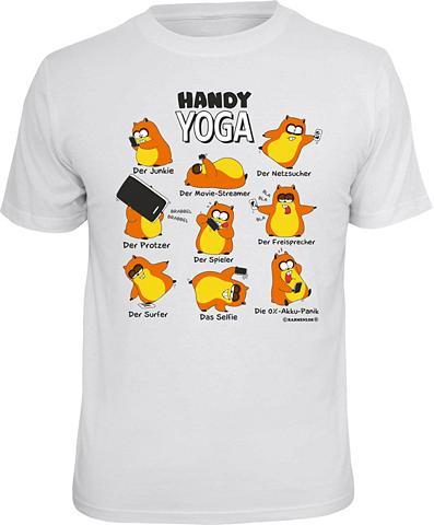 Marškinėliai »Handy-Yoga«