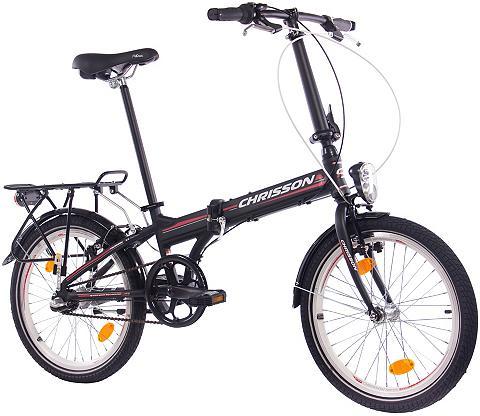 CHRISSON Sudedamas dviratis »FOLDRIDER Alloy « ...