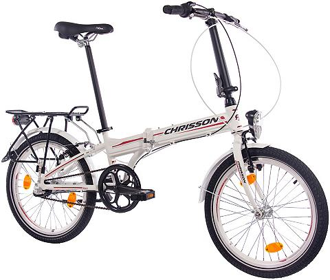 CHRISSON Sudedamas dviratis »FOLDRIDER Alloy« 2...