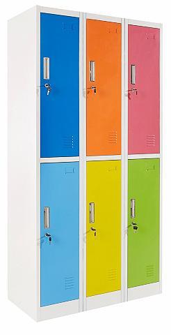 Spinta »Highschool-Spind« aukštis 185 ...
