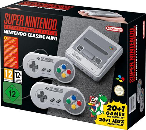 NINTENDO Classic Mini: Super Entertainment Sist...