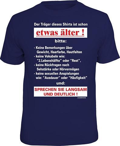 Marškinėliai »Der Petnešėlės dieses Pa...